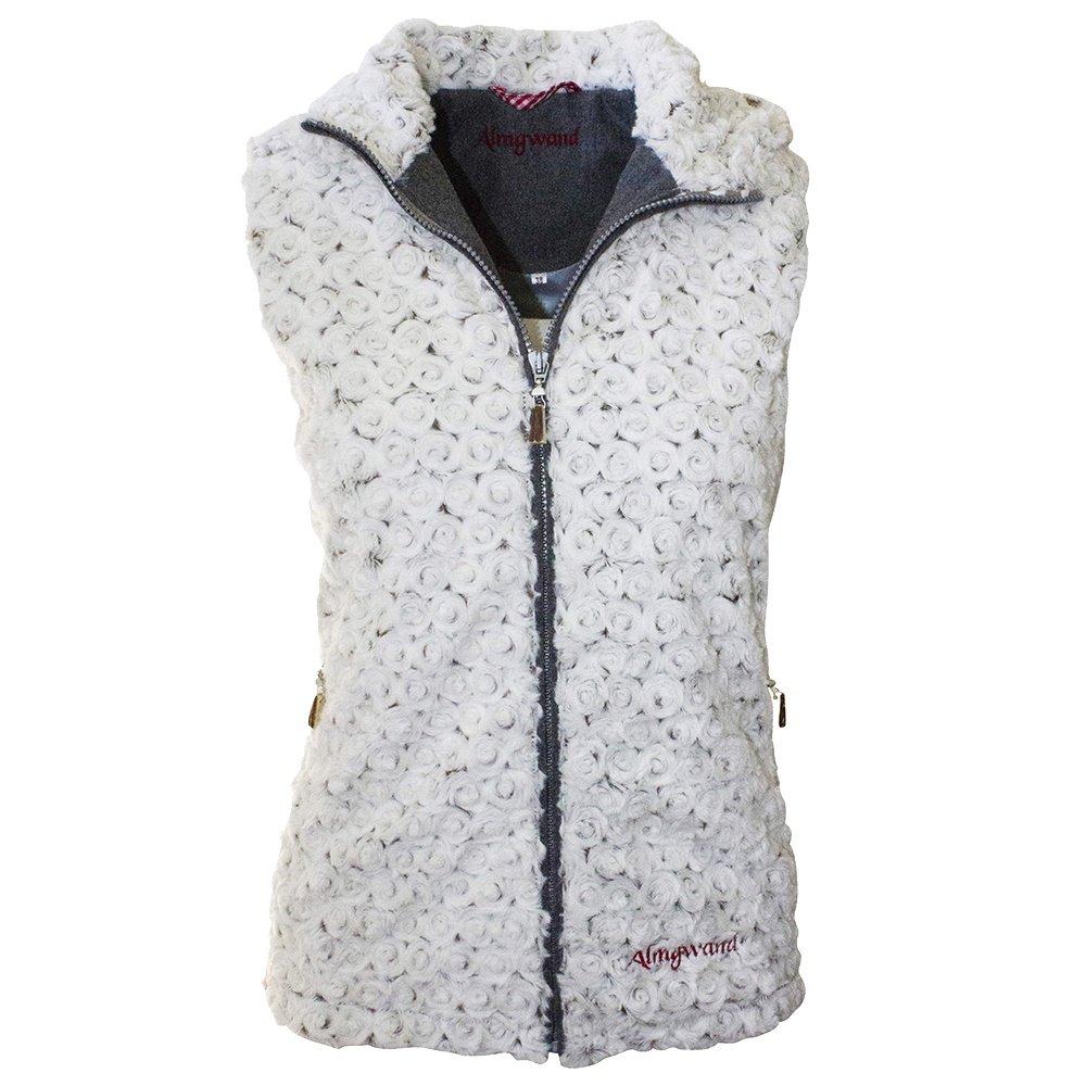Almgwand Friesing Vest (Women's) - Ecru/Gray