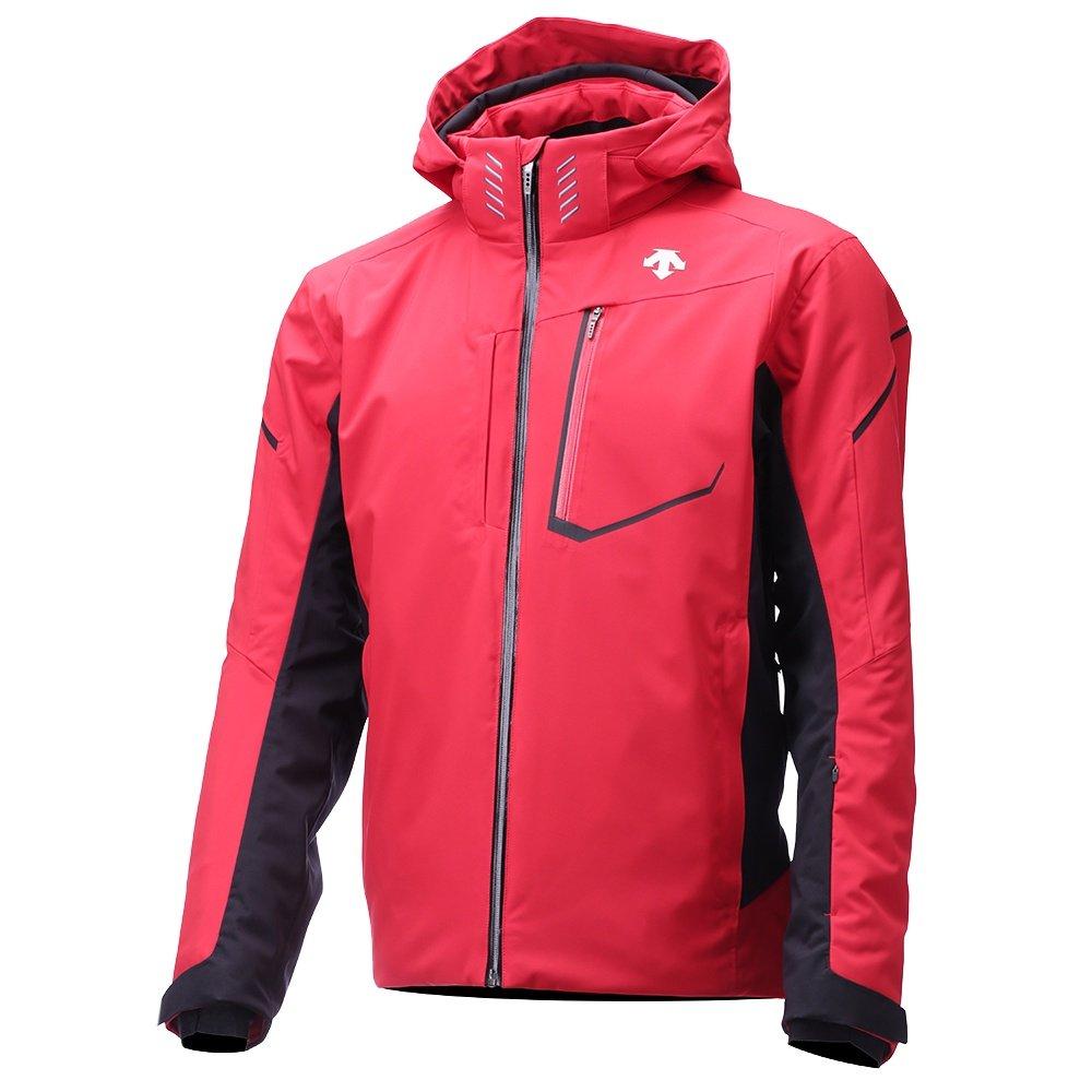 Descente Terro Insulated Ski Jacket (Men's) - Electric Red/Black/Titanium