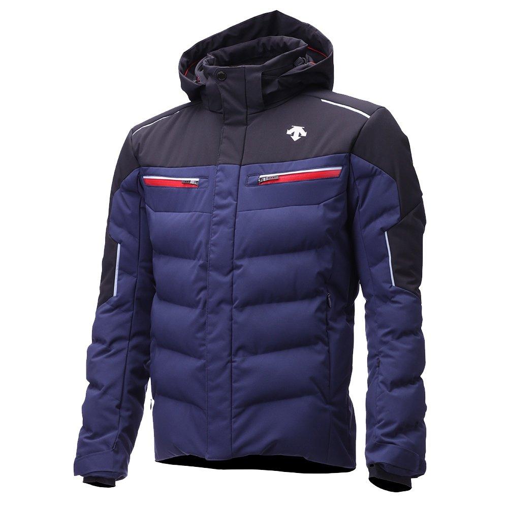 Descente Winnton Insulated Ski Jacket (Men's) - Dark Night/Black/Titanium/Electric Red