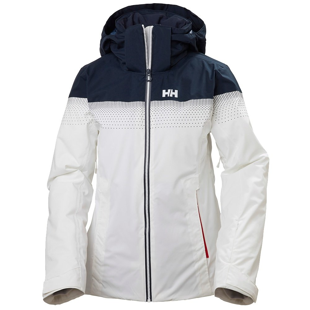 Helly Hansen Motionista LifaLoft Insulated Ski Jacket (Women's) - White