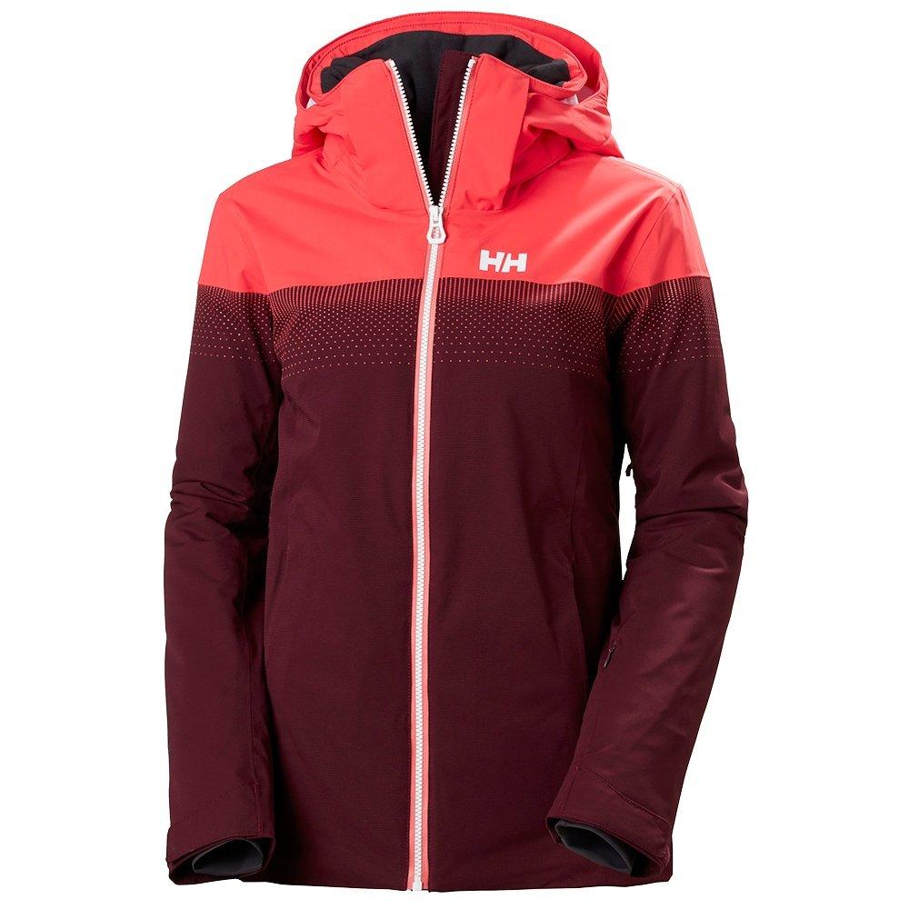 Helly Hansen Motionista LifaLoft Insulated Ski Jacket (Women's) - Wild Rose