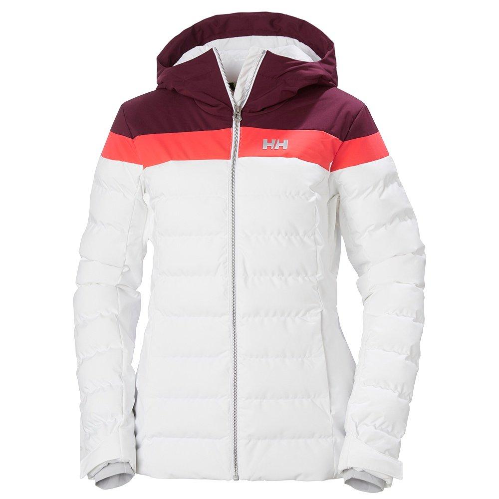 Helly Hansen Imperial Puffy Insulated Ski Jacket (Women's) - White/Wild Rose/Pink