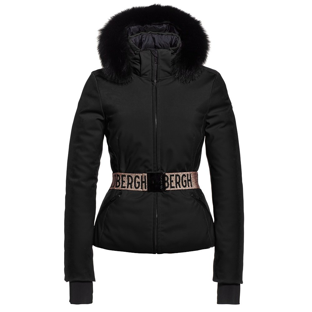 Goldbergh Hida Down Ski Jacket with Real Fur (Women's) - Black