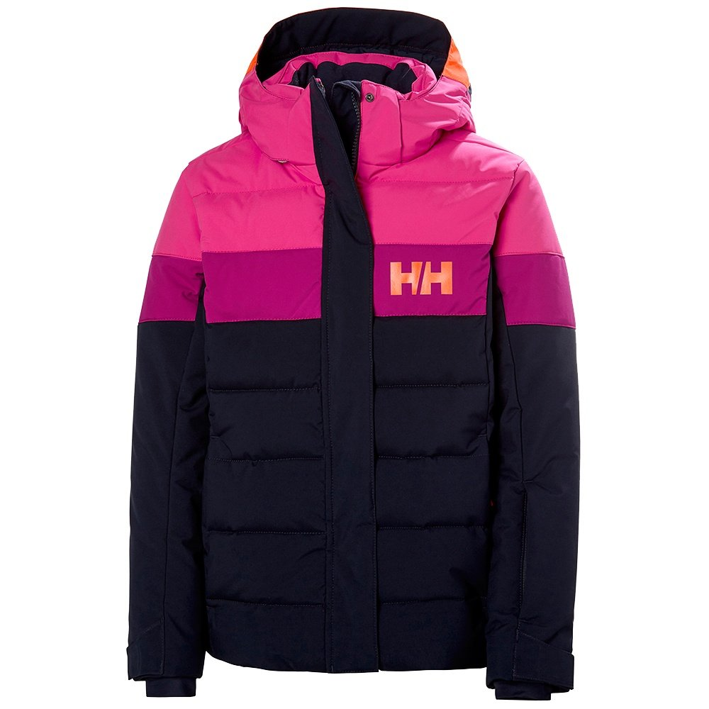 Helly Hansen Diamond Insulated Ski Jacket (Girls') - Navy