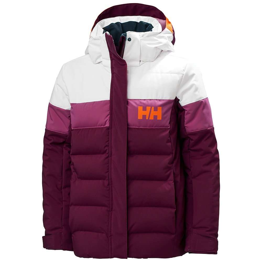 Helly Hansen Diamond Insulated Ski Jacket (Girls') - Purple Potion