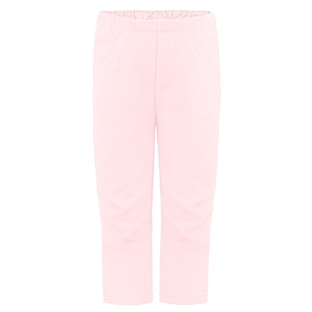 Poivre Blanc Fuzzy Fleece Pant (Little Kids') - Angel Pink