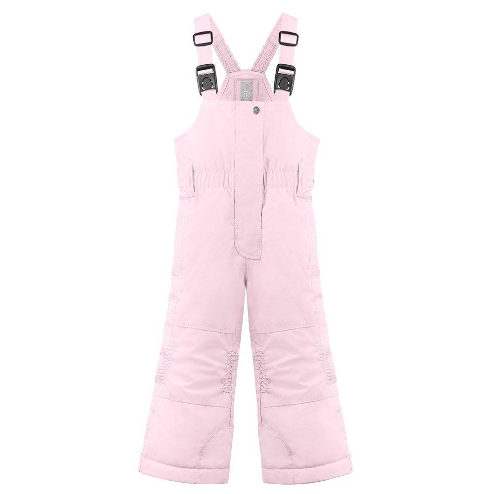 Poivre Blanc Princess Bear Insulated Ski Bib (Little Girls') - Angel Pink