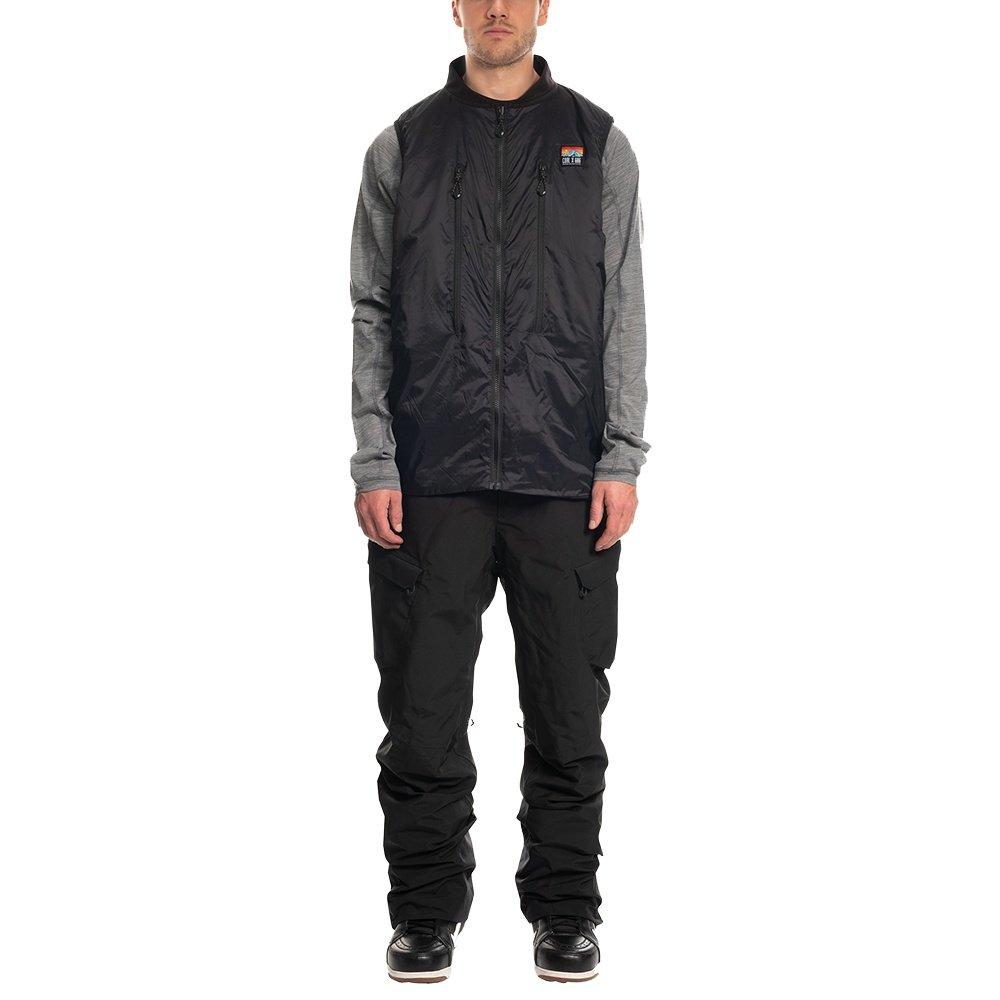 686 Coal Smarty 3-in-1 Snowboard Vest Bib (Men's) - Black