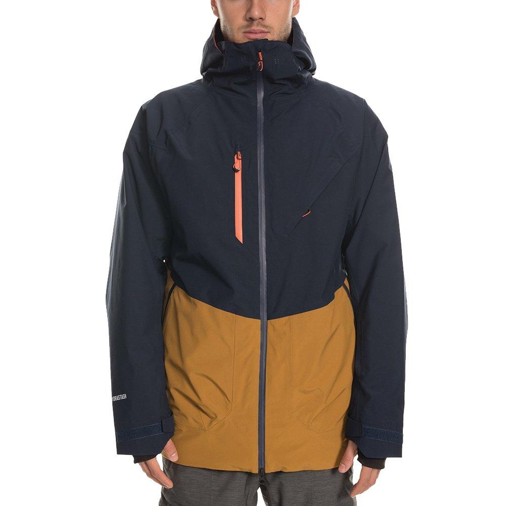 686 Hydrastash Reservoir Insulated Snowboard Jacket (Men's) - Navy Colorblock