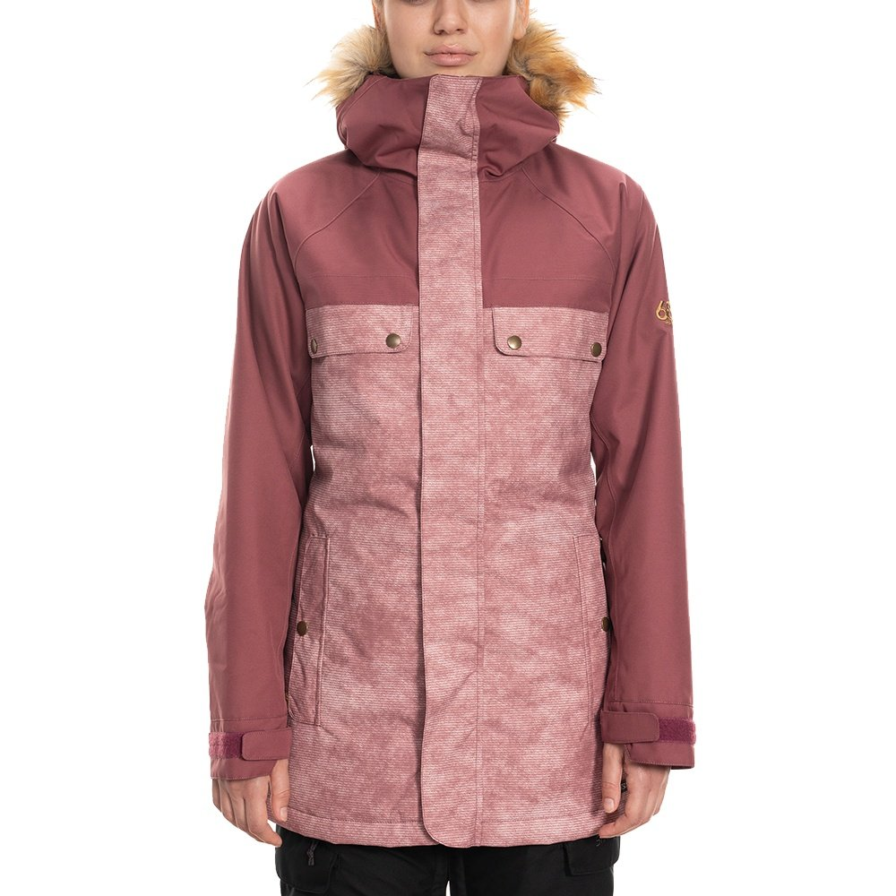 686 Dream Insulated Snowboard Jacket (Women's) - Crushed Berry Heather