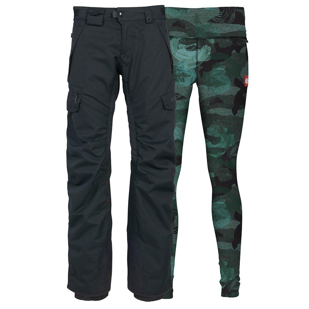 686 Smarty 3-in-1 Cargo Snowboard Pant (Women's) - Black