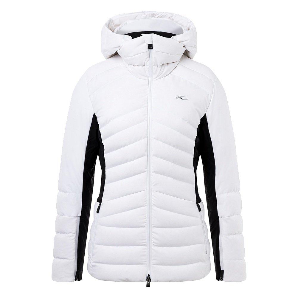 KJUS Duana Insulated Ski Jacket (Women's) - White/Black