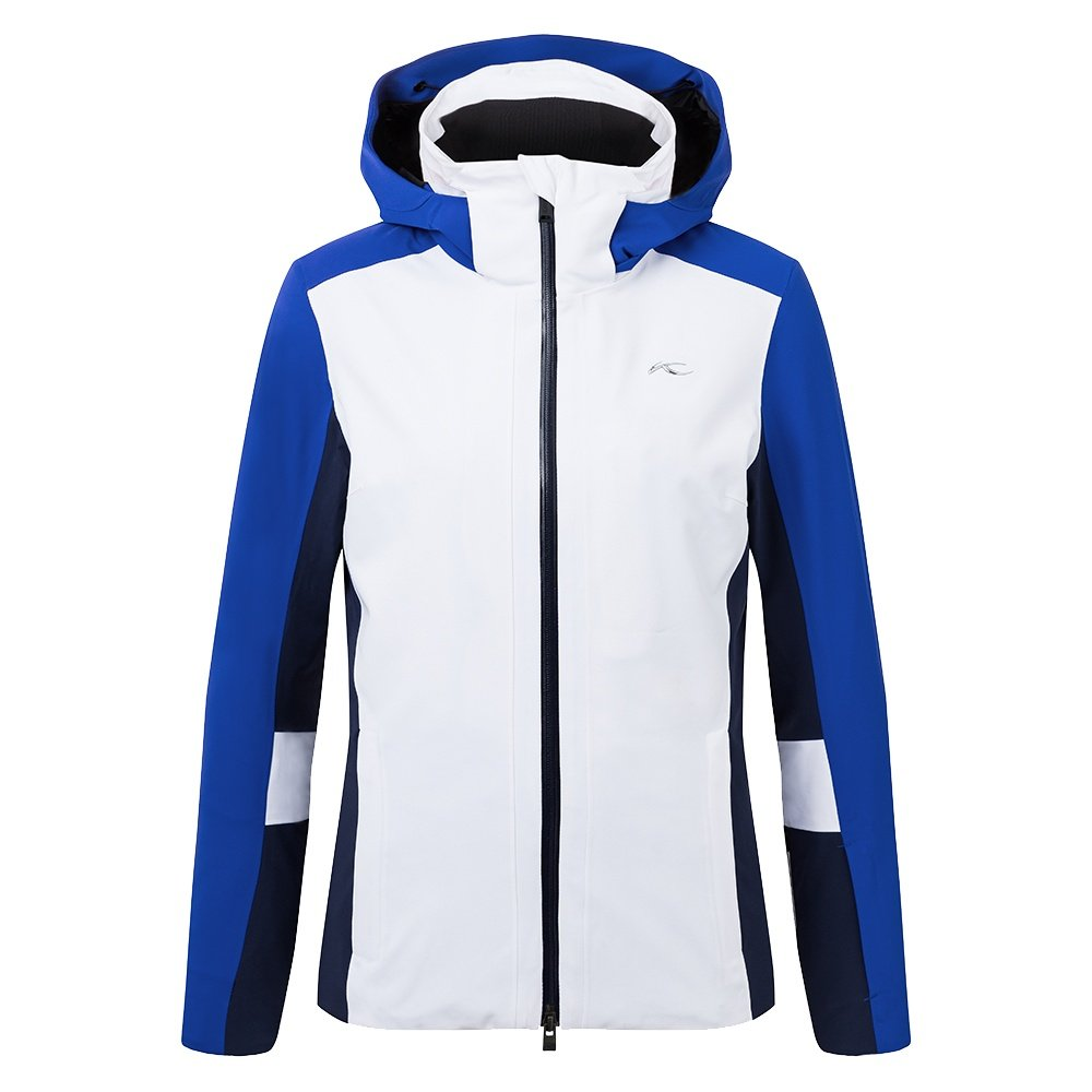 KJUS Laina Insulated Ski Jacket (Women's) - White/Wintersky