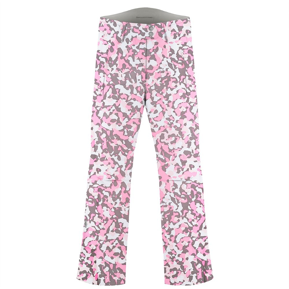 Poivre Blanc Glitz Insulated Ski Pant (Girls') - Pink/Camo