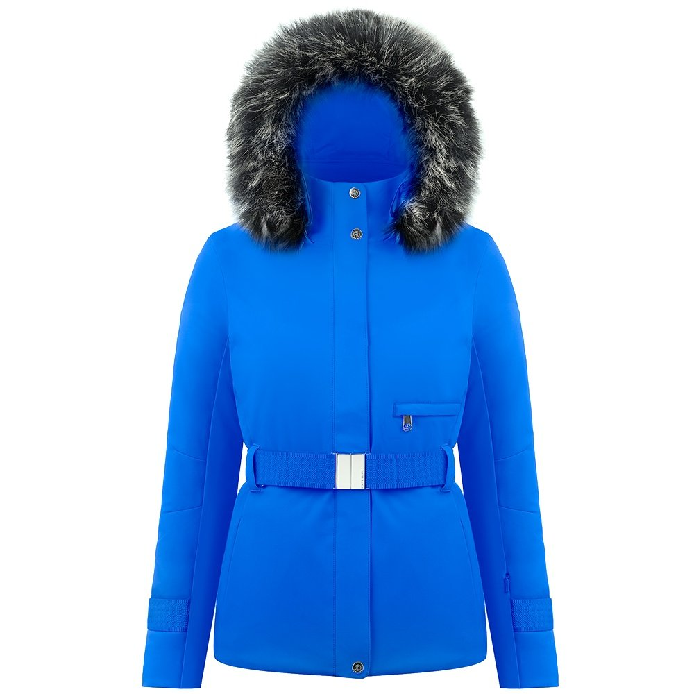 Poivre Blanc Catherine Insulated Ski Jacket with Faux Fur (Women's) - True Blue