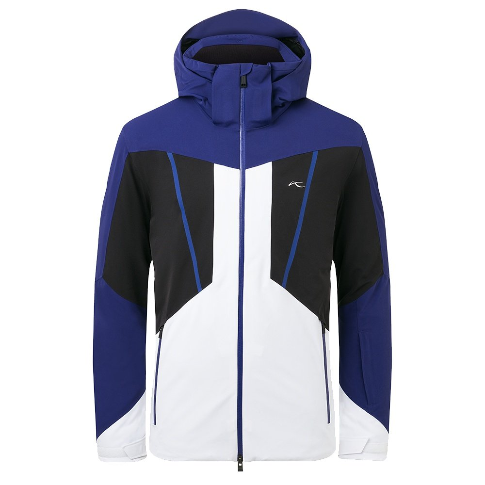 KJUS Boval Insulated Ski Jacket (Men's) - Into the Blue/Black
