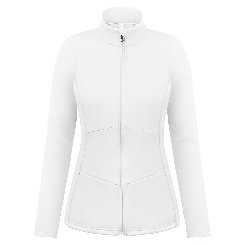 Poivre Blanc Mary Full Zip Fleece Jacket (Women's) - White