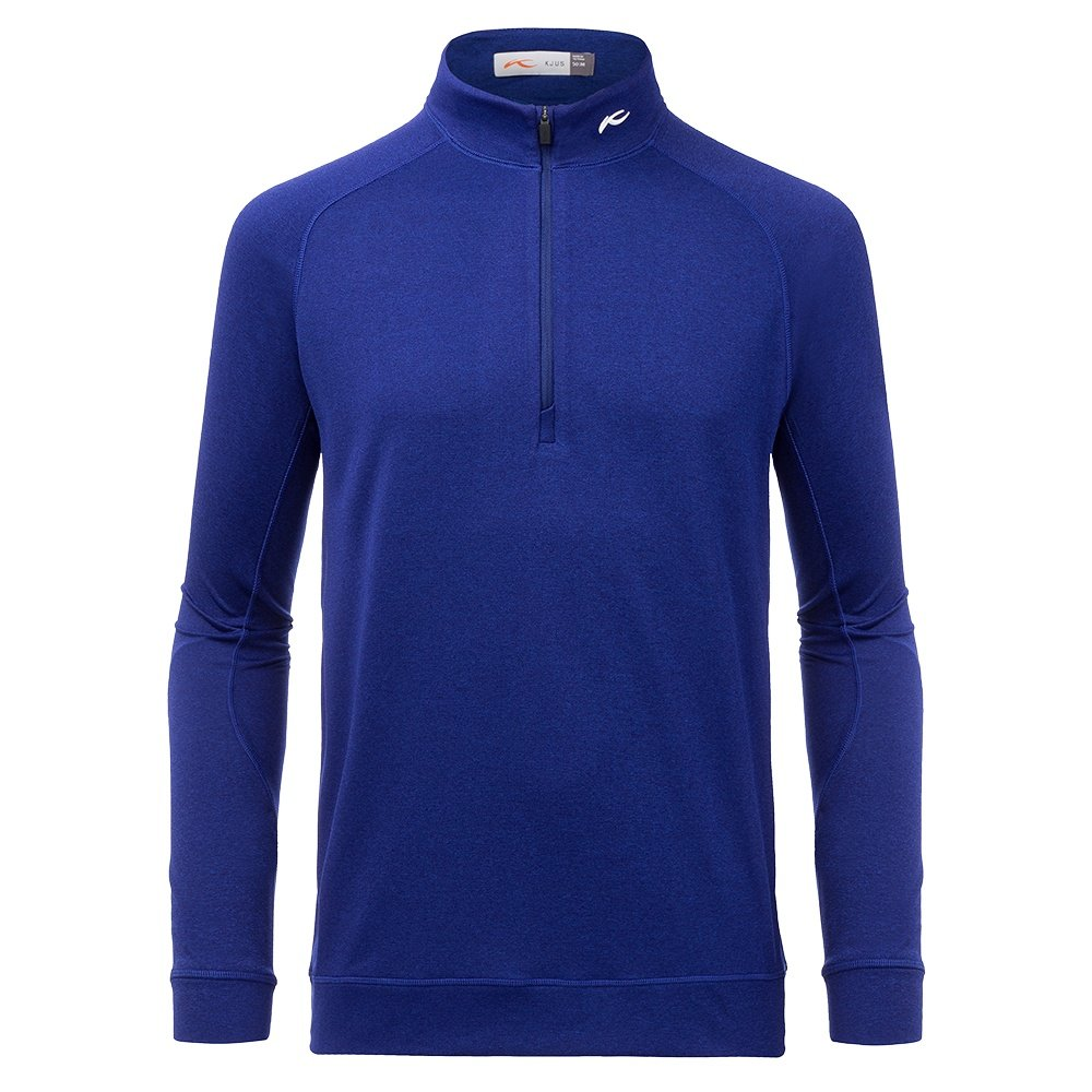 Kjus Keano 1/2-Zip Mid-Layer (Men's) - Into the Blue Melange