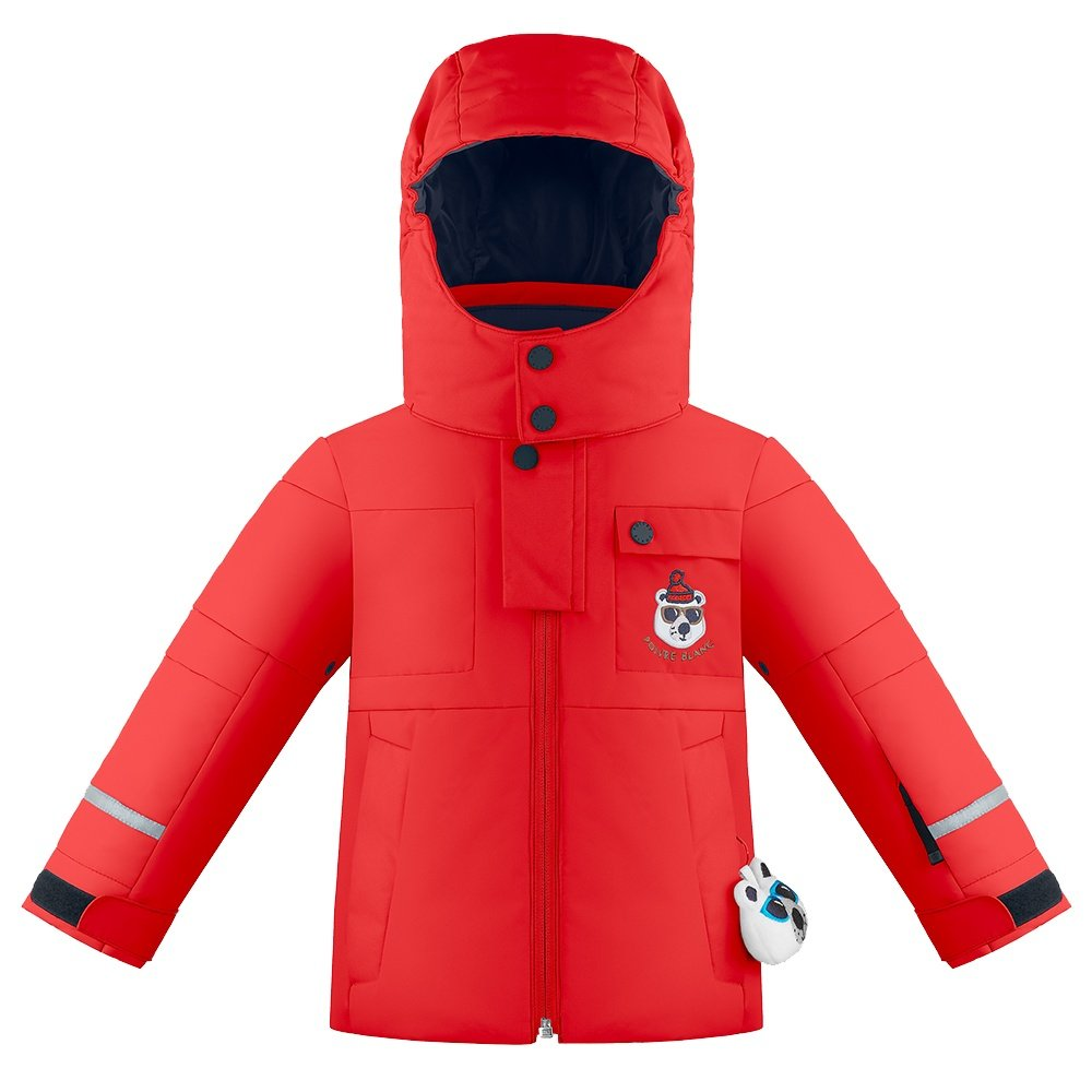 Poivre Blanc Off Roading Insulated Ski Jacket (Little Boys') - Scarlet Red