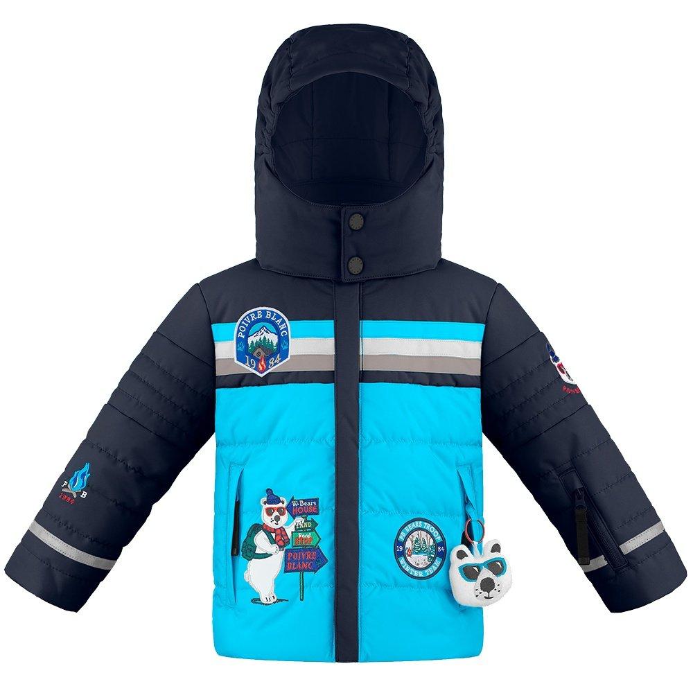 Poivre Blanc Polar Bear Travel Insulated Ski Jacket (Little Boys') - Fancy Aqua Blue