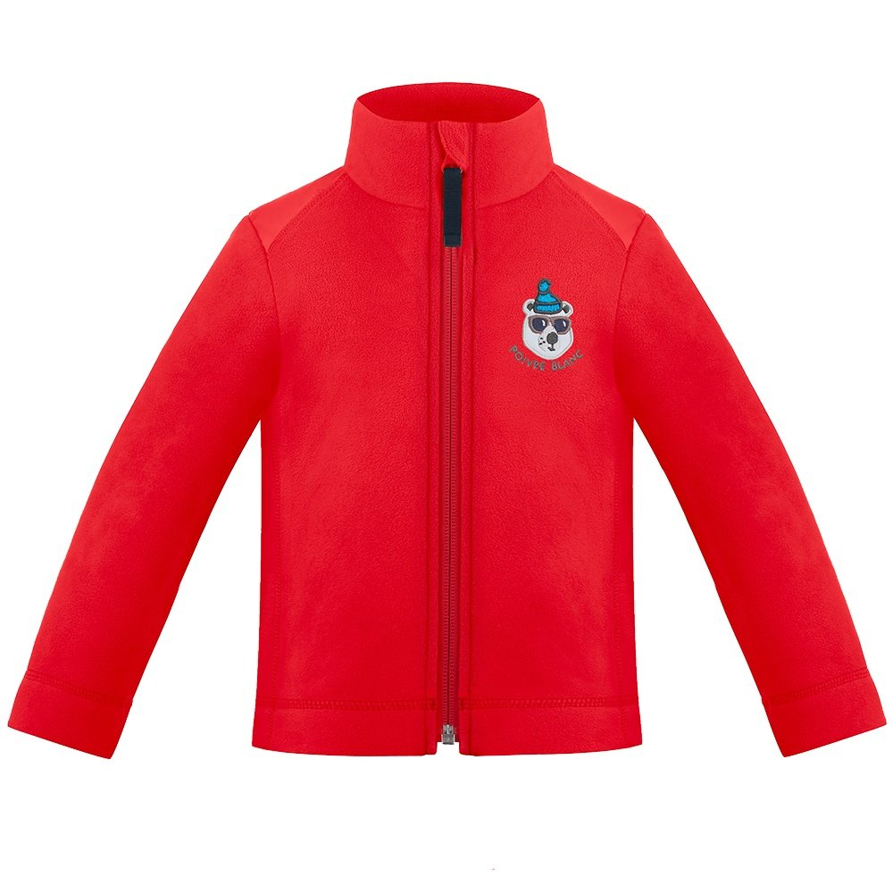 Poivre Blanc Off Roading Fleece Jacket (Little Boys') - Scarlet Red
