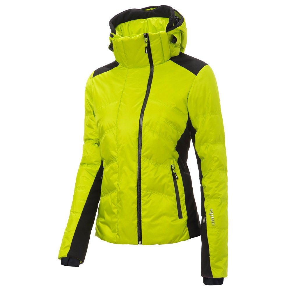 Rh+ Freedom Down Ski Jacket (Women's) - Acid Green/Black