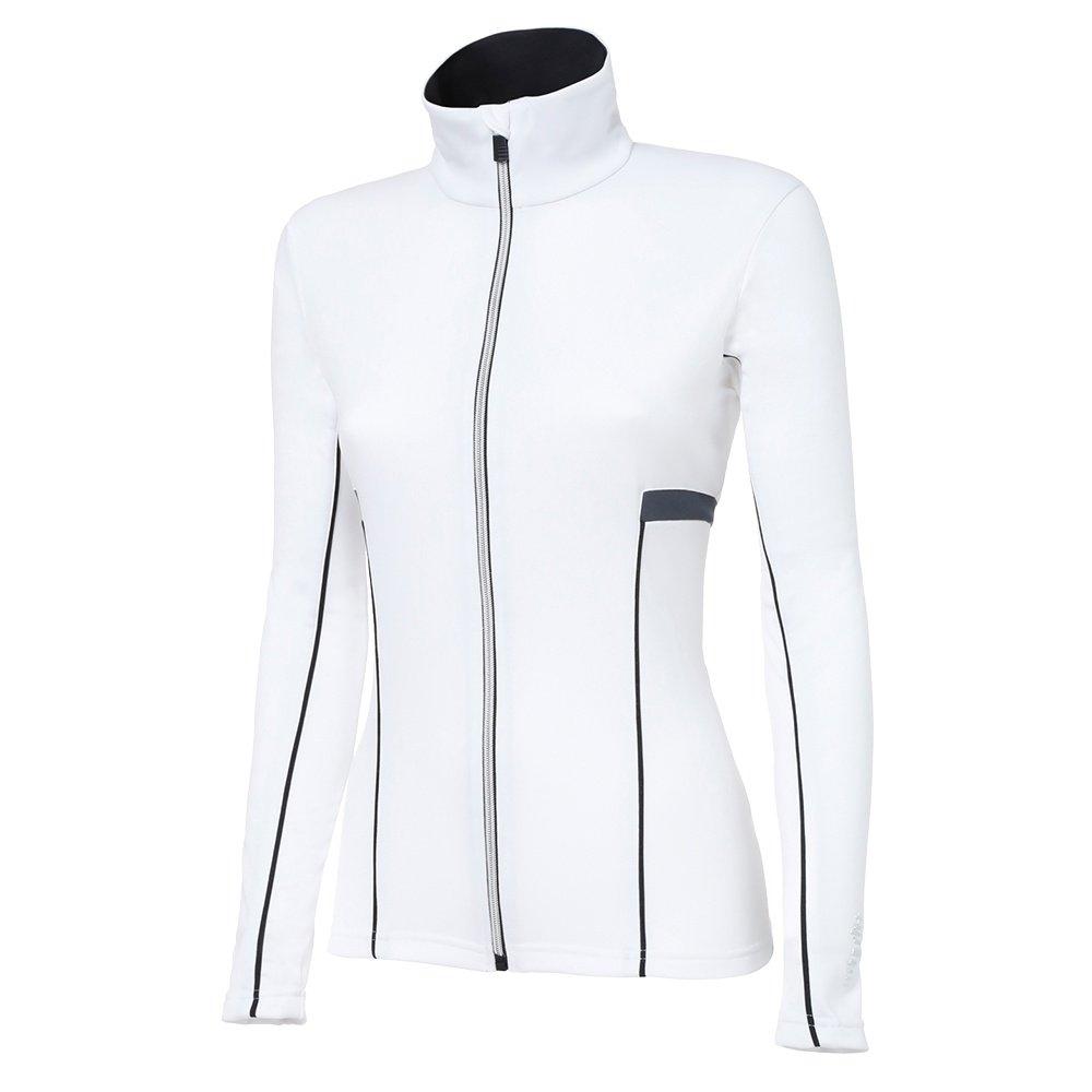 Rh+ Moos Jersey Full-Zip Sweater (Women's) - White/Black/Dark Grey