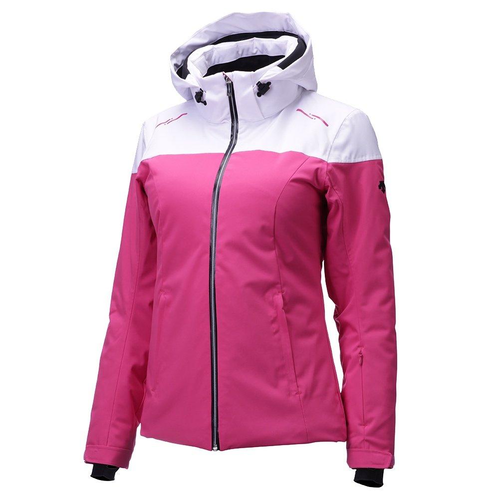 Descente Emilia Insulated Ski Jacket (Women's) - Pink/Super White/Black