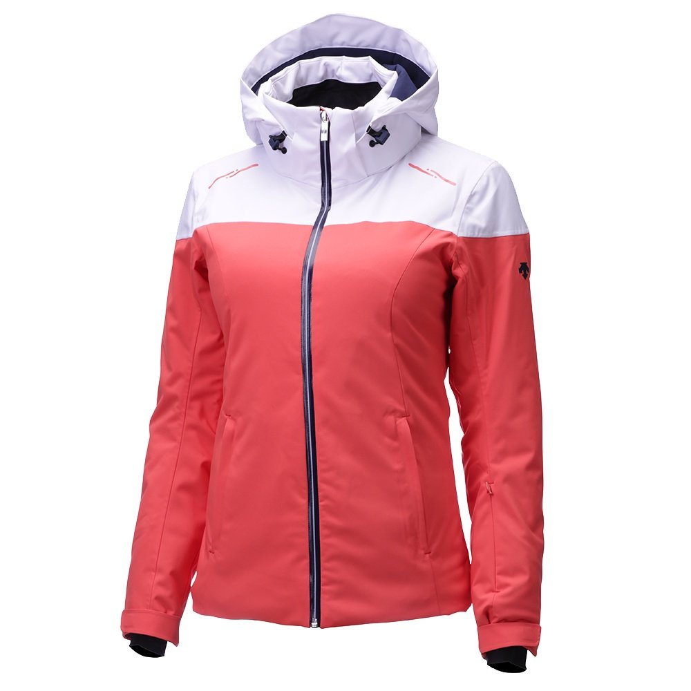 Descente Emilia Insulated Ski Jacket (Women's) - Poppy/Super White/Dark Night
