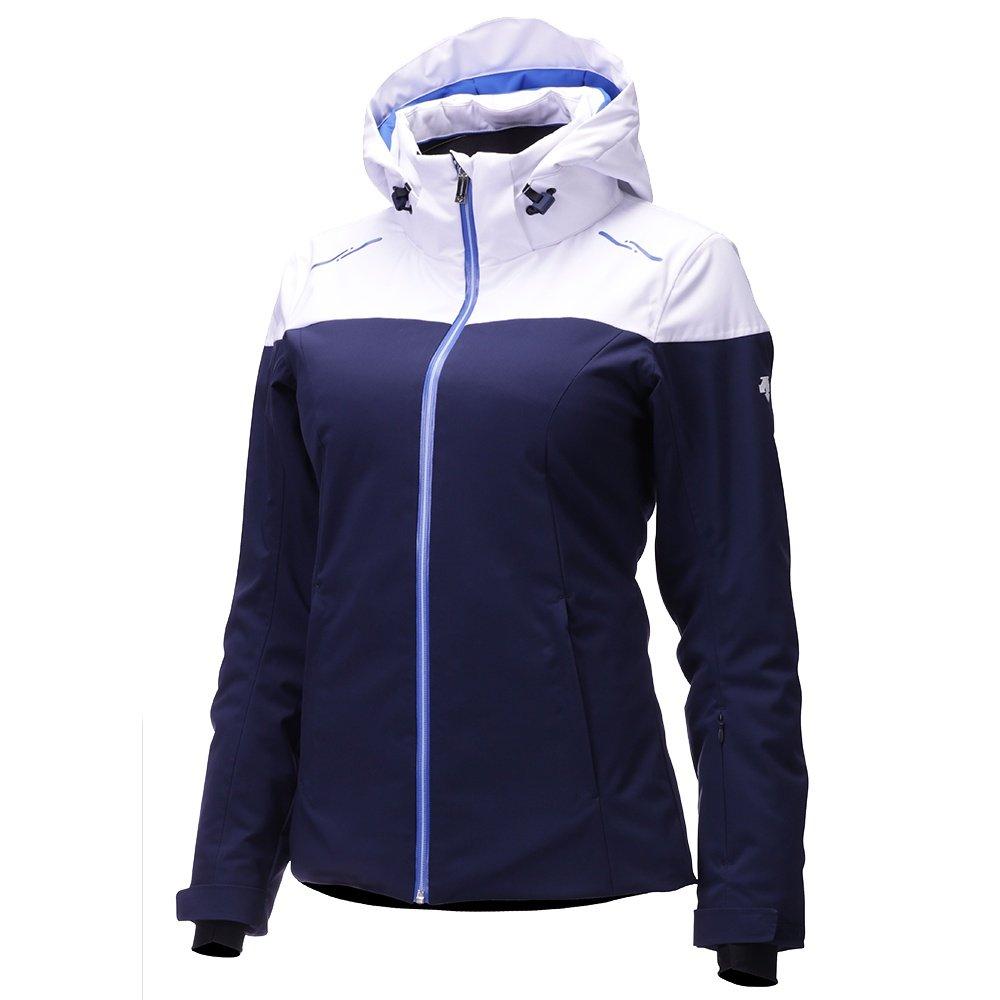 Descente Emilia Insulated Ski Jacket (Women's) - Dark Knight/Super White/Victory Blue