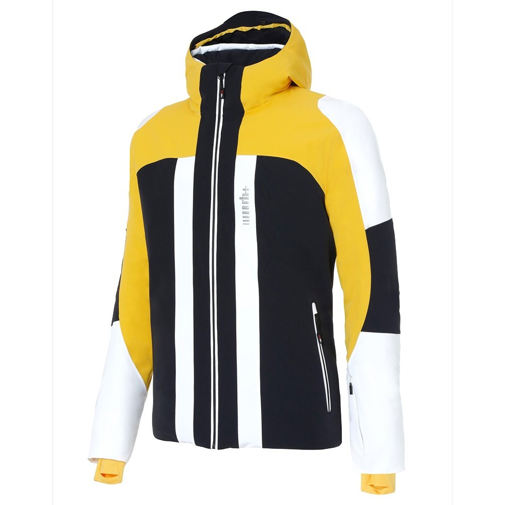 Rh+ Moos Insulated Ski Jacket (Men's) - Black/Taxi Yellow/White