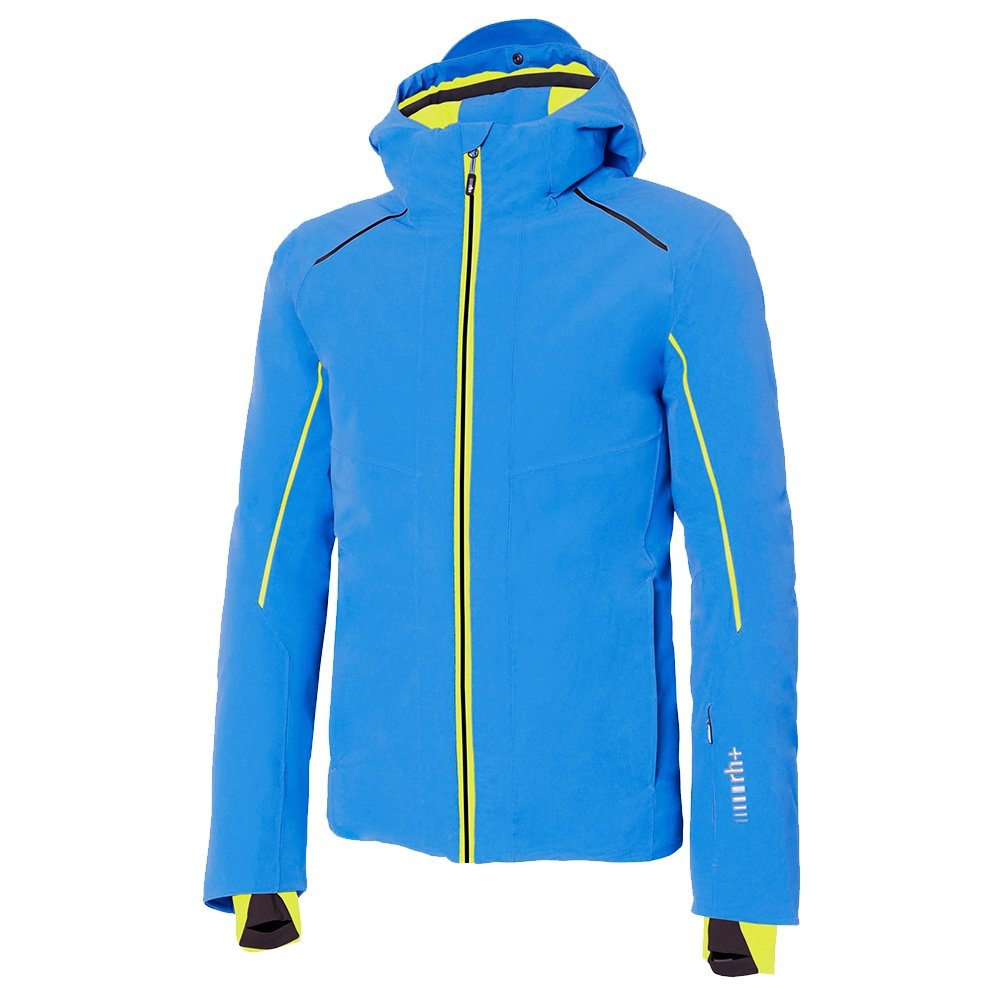 Rh+ Saslong Insulated Ski Jacket (Men's) - Lake Blue/Acide Green/Black