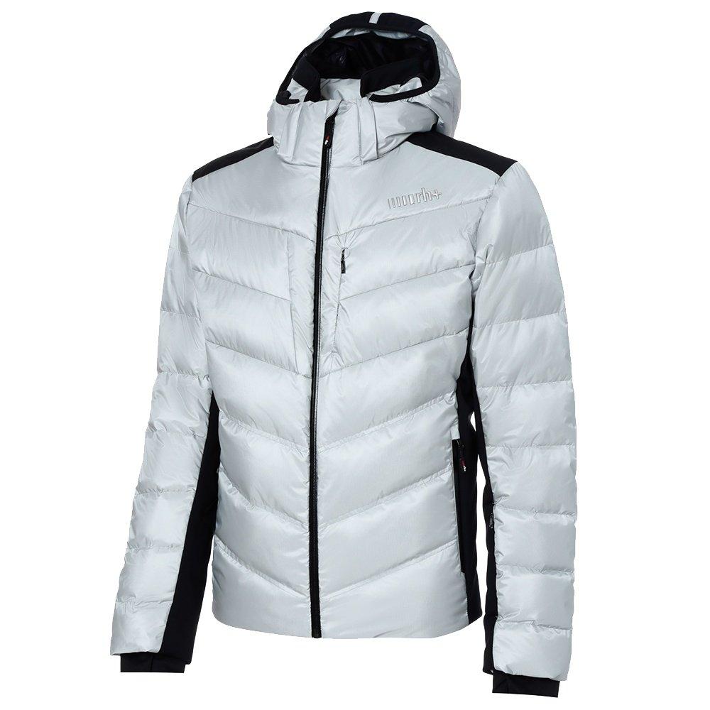 Rh+ Freedom Down Ski Jacket (Men's) - Silver/Black