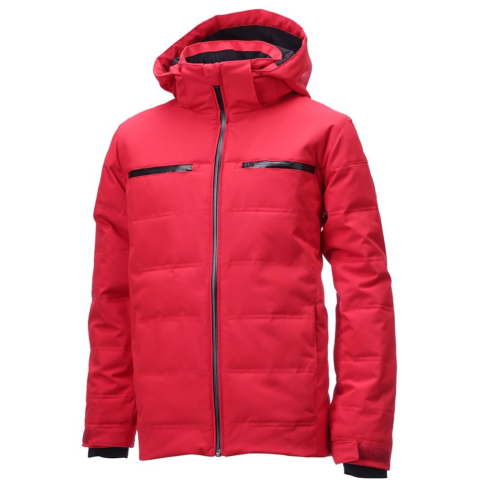 Descente Rylan Insulated Ski Jacket (Boys') - Electric Red