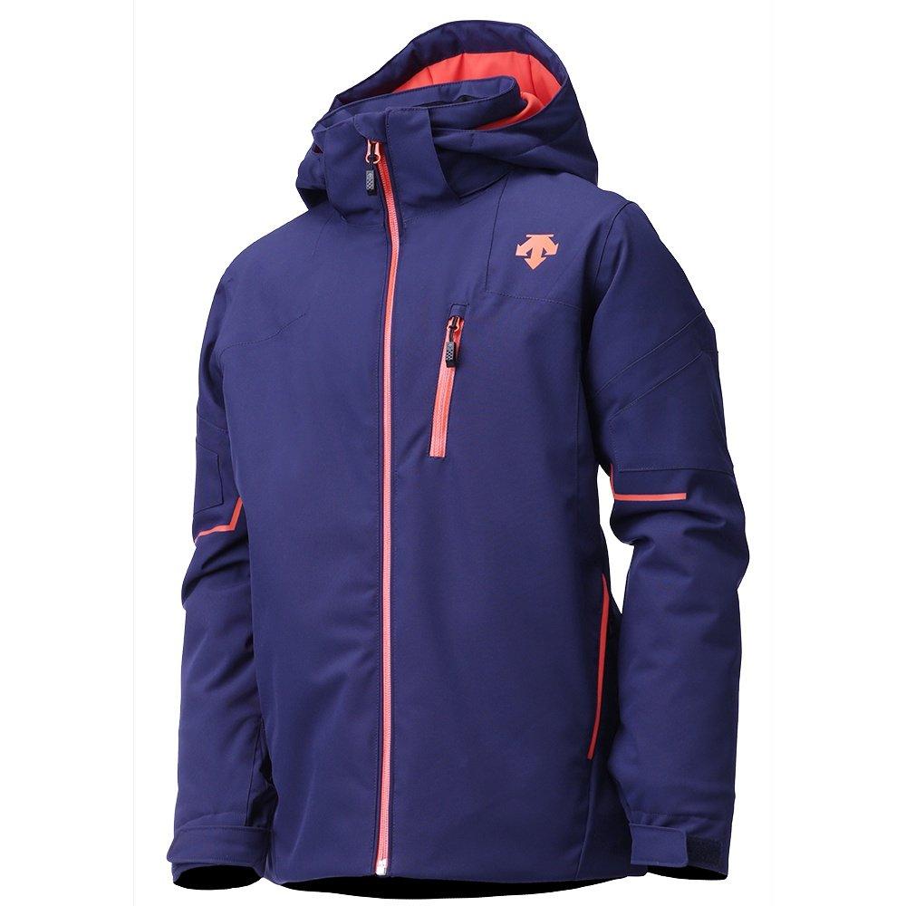 Descente Beckett Insulated Ski Jacket (Boys') - Dark Knight/Orange