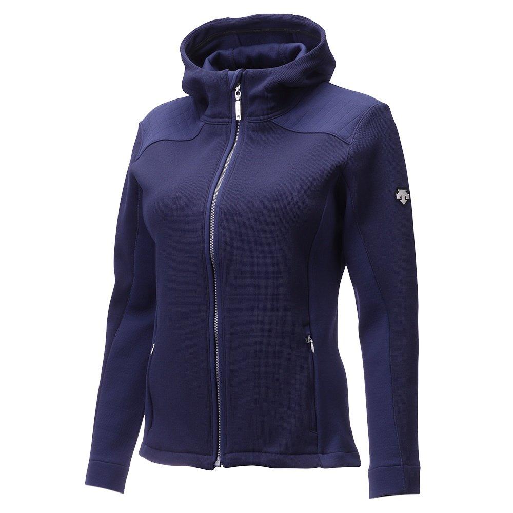Descente Laurel Full Zip Sweater (Women's) - Dark Night