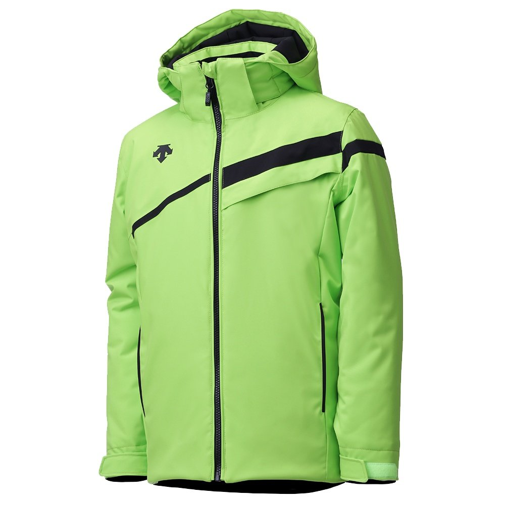 Descente Nash Insulated Ski Jacket (Boys') - Lime Green/Black