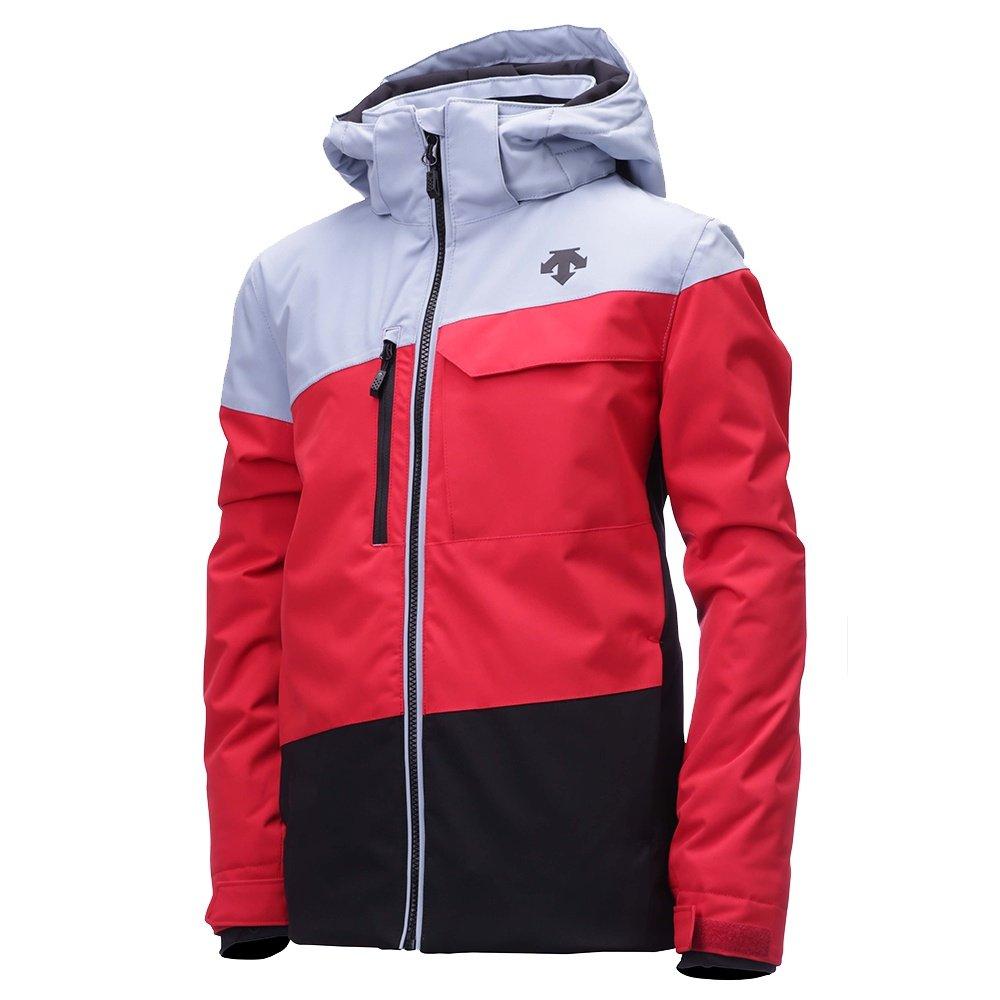 Descente Maddox Insulated Ski Jacket (Boys') - Electric Red/Titanium/Black