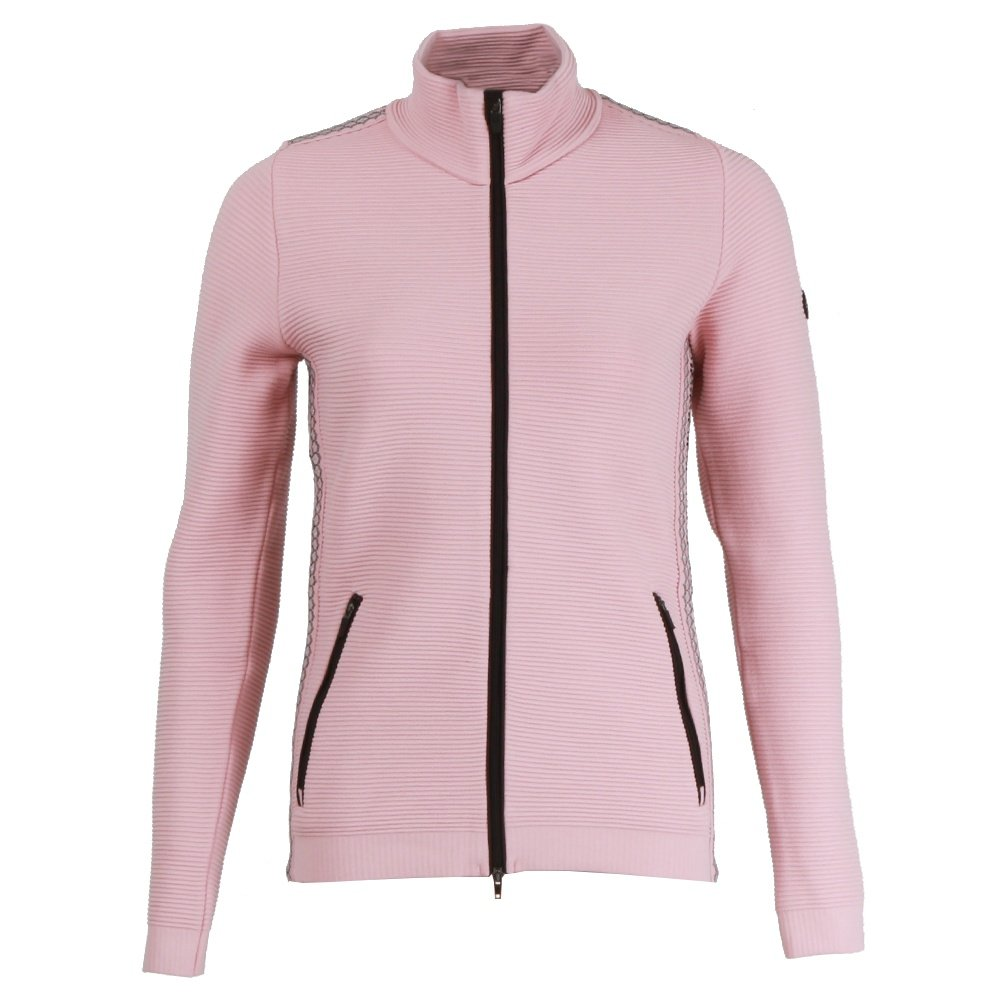 Newland Skeeter Full-Zip Sweater (Women's) - Powder Pink/Black