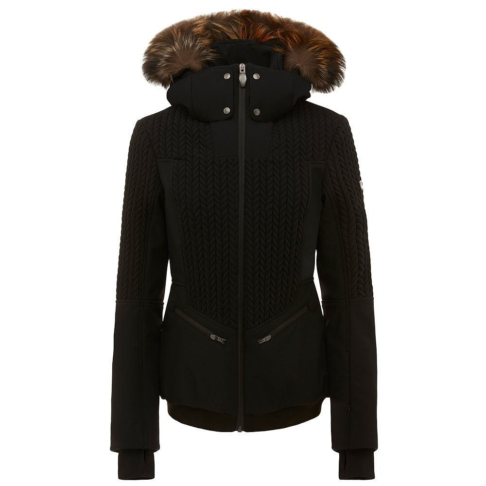 Post Card Crows BMAT Insulated Ski Jacket with Fur (Women's) - Black