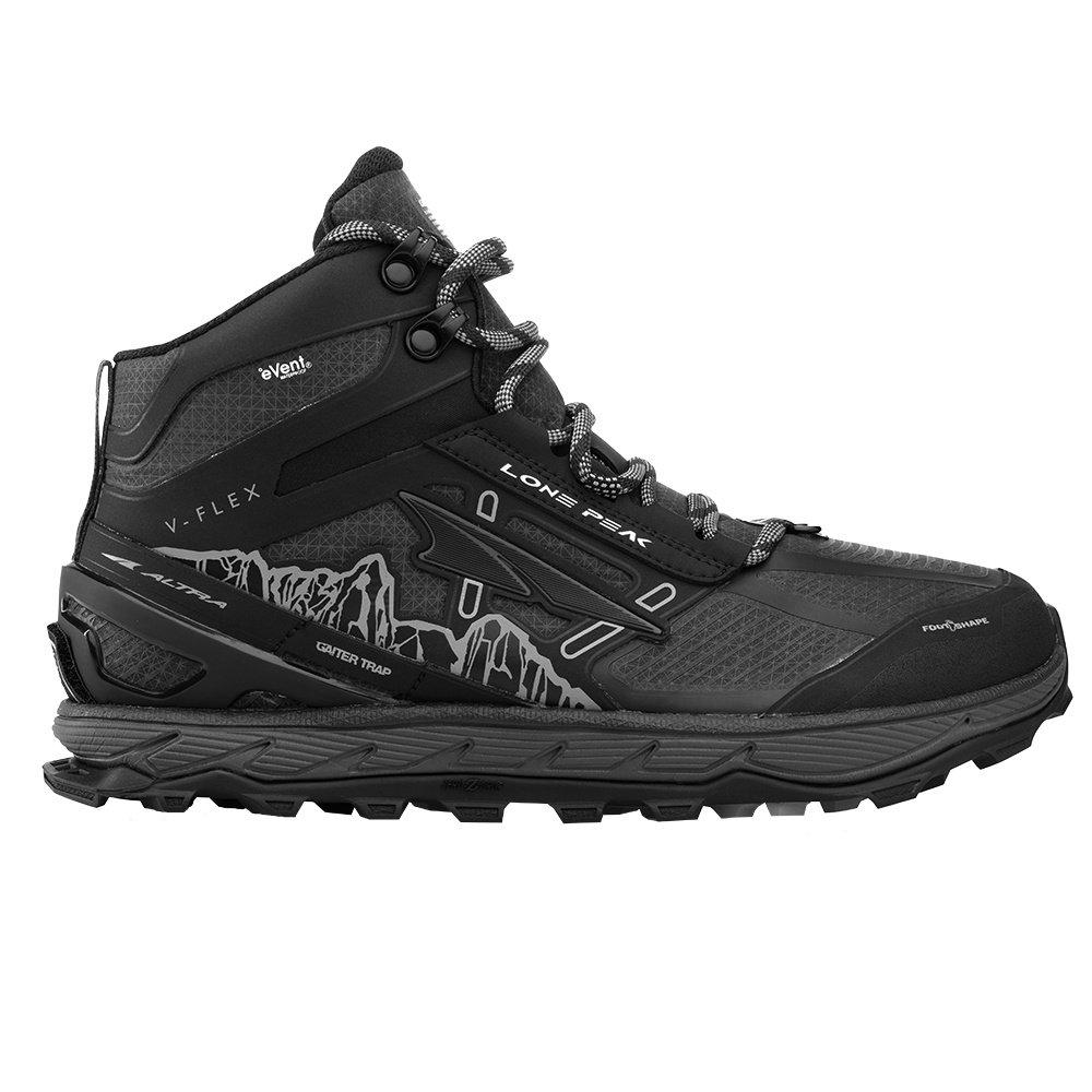 Altra Lone Peak 4 Mid RSM Hiking Boot (Men's) - Black