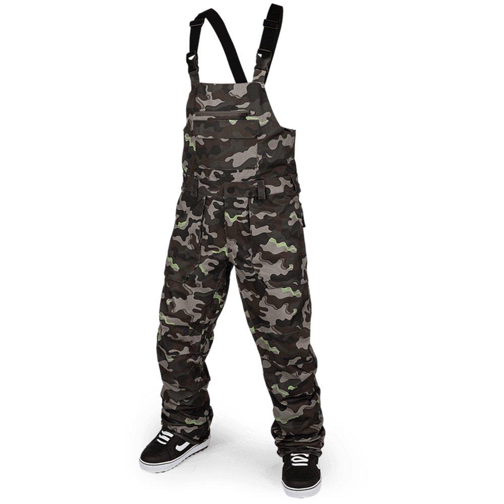 Volcom Roan Shell Overall Bib (Men's) - Army