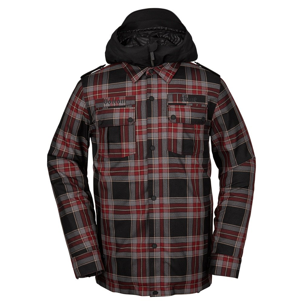 Volcom Creedle2Stone Shell Snowboard Jacket (Men's) - Red