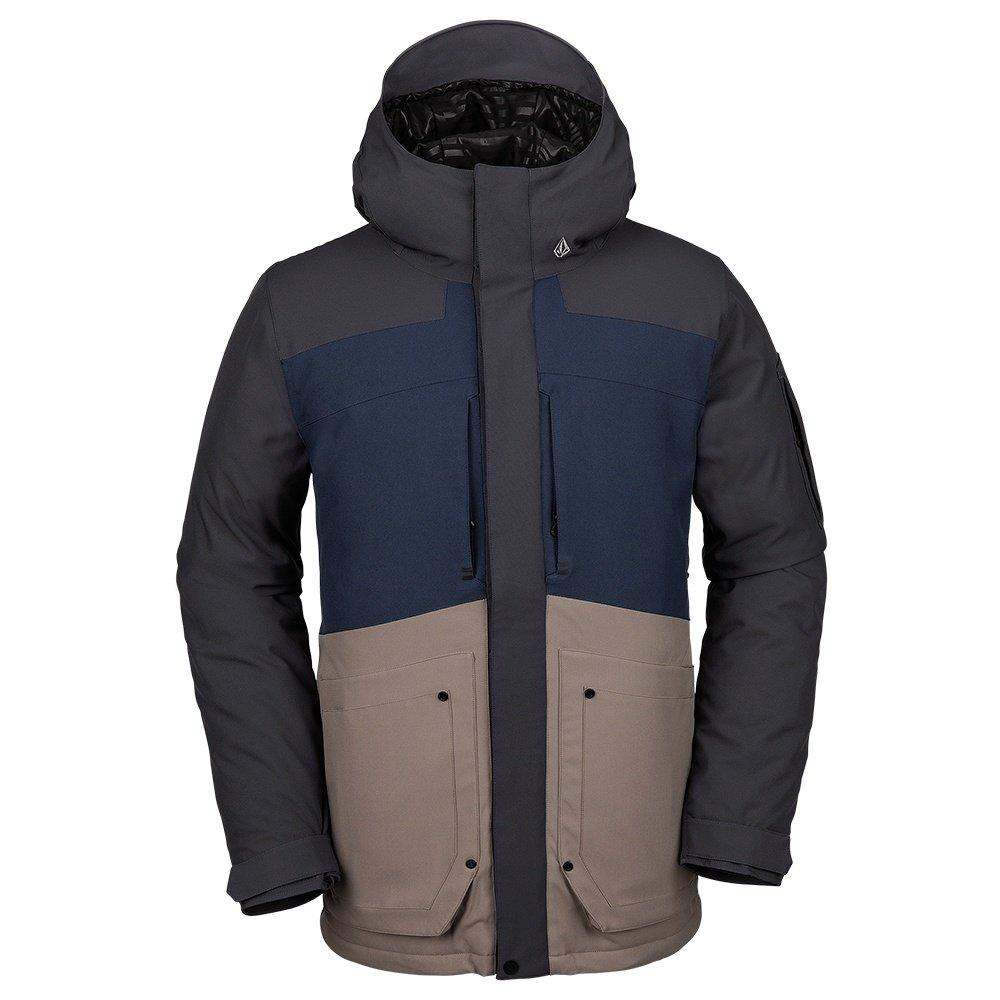 Volcom Scortch Insulated Snowboard Jacket (Men's) - Navy