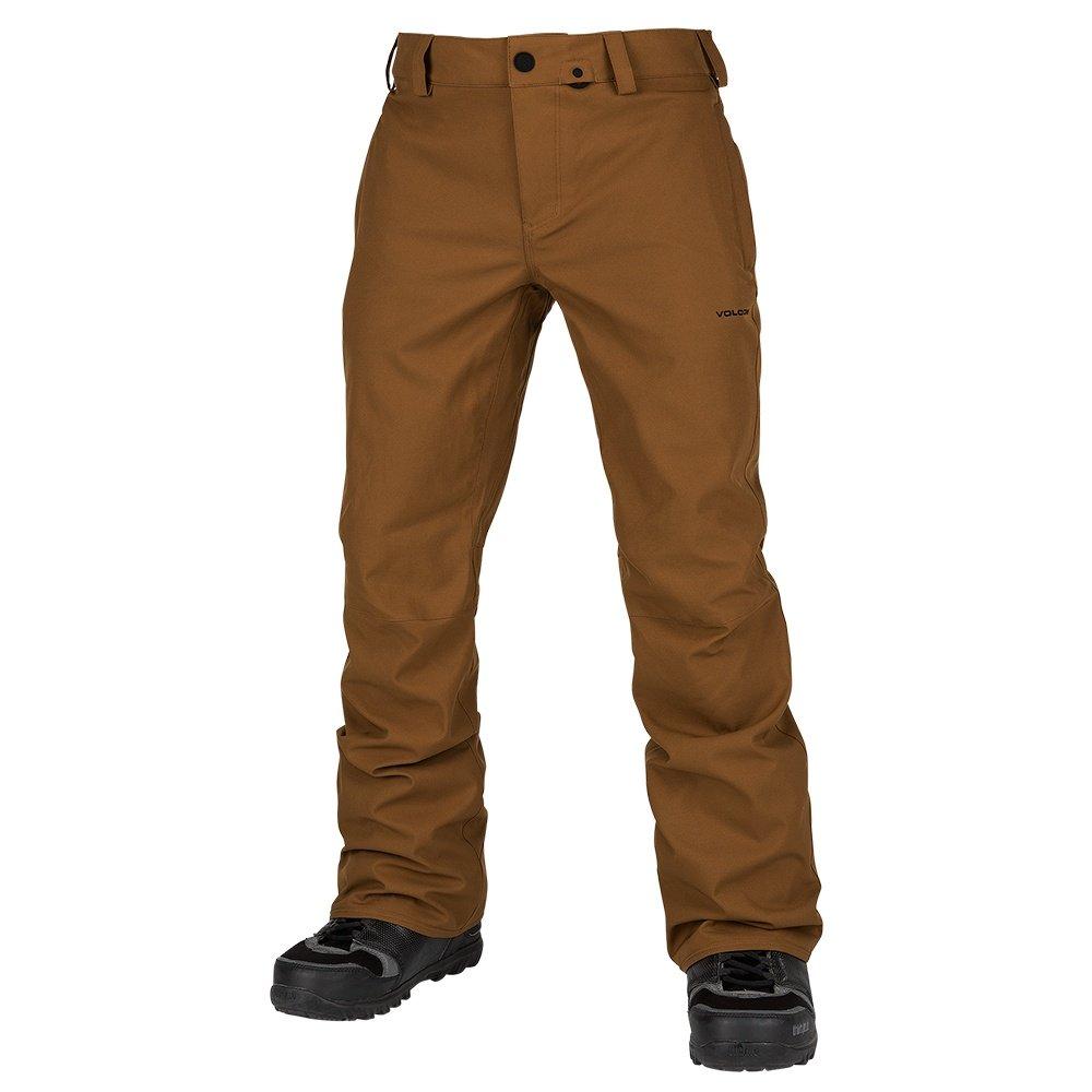 Volcom Klocker Tight Shell Snowboard Pant (Men's) - Caramel