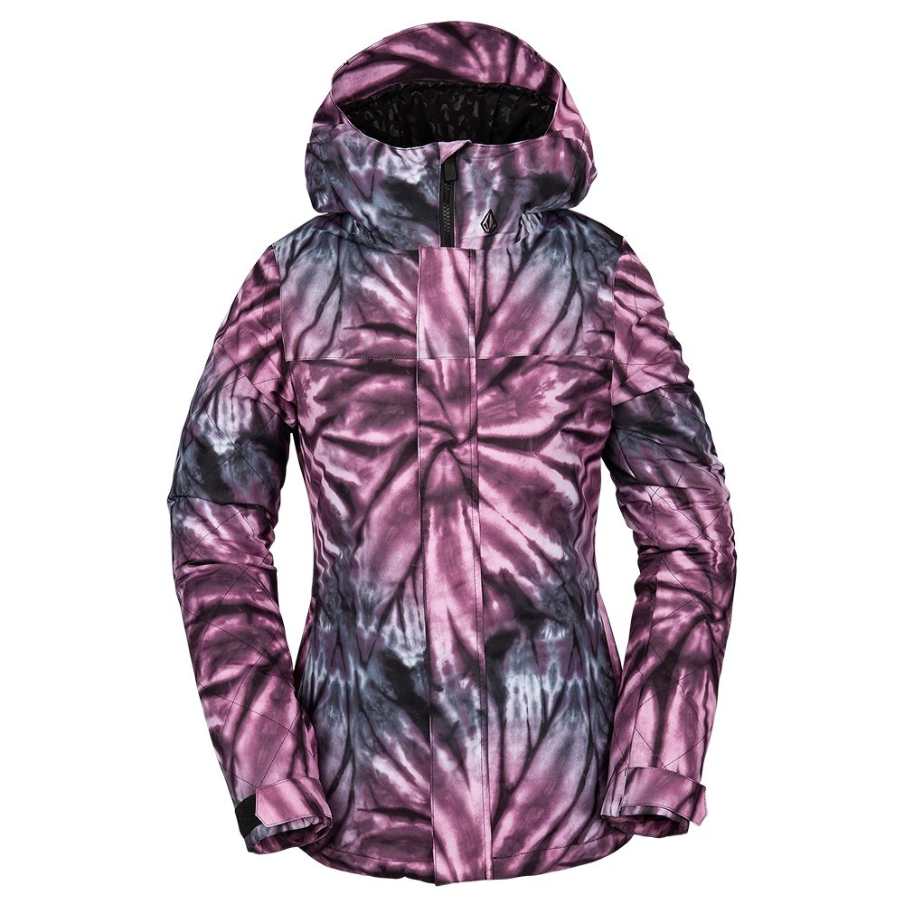 Volcom Bolt Insulated Snowboard Jacket (Women's) - Tie Die Print Purple