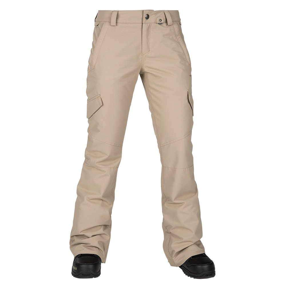 Volcom Bridger Insulated Snowboard Pant (Women's) - Sand Brown