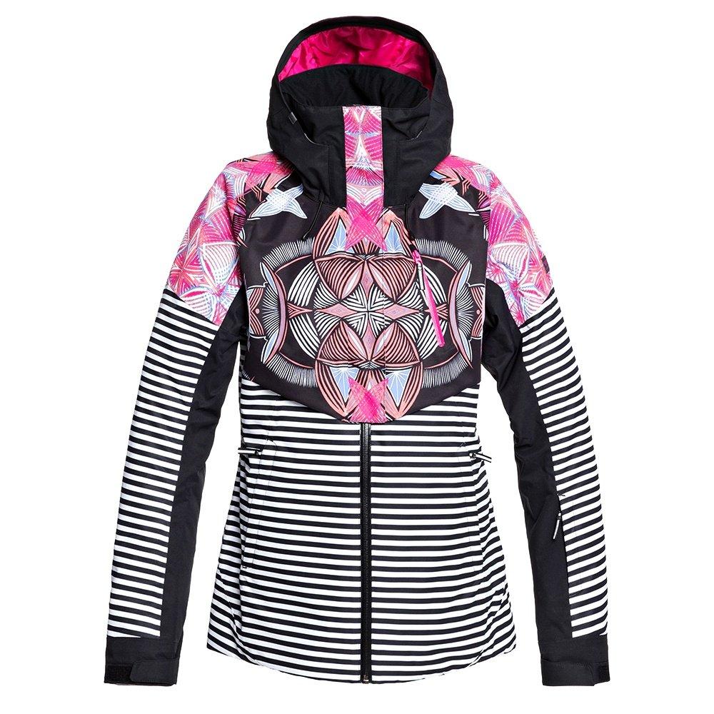 Roxy Frozen Flow Insulated Snowboard Jacket (Women's) - True Black Active Base