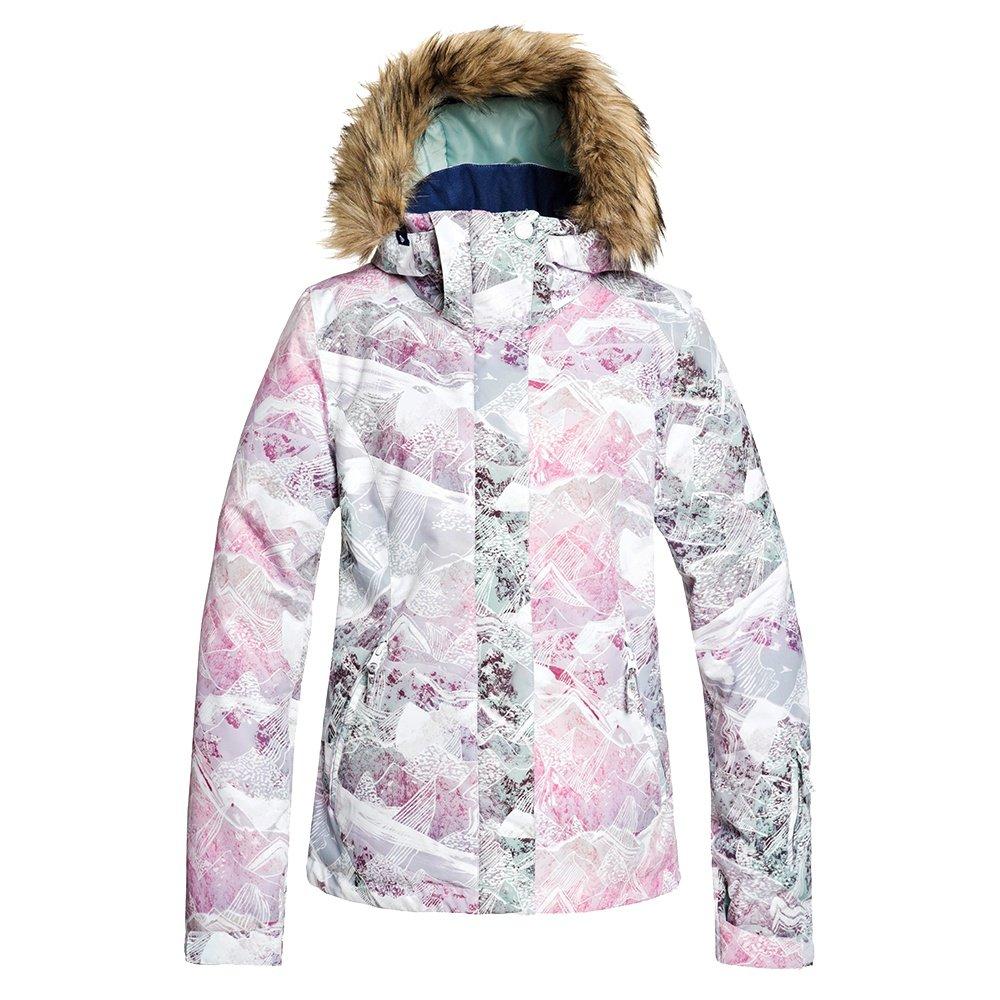 Roxy Jet Ski Insulated Snowboard Jacket (Women's) - Bright White Mysterious View