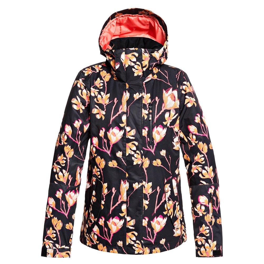 Roxy Torah Bright Jetty Insulated Snowboard Jacket (Women's) - True Black Magnolia